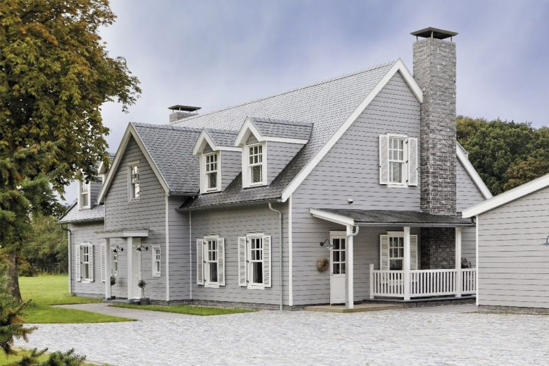 Siding project completed by Opal